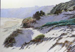 Adrian Johnson-Sunlight and shadow-oil-71x102cm