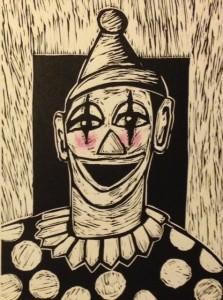 Bev Mitchell-Symons--Clown