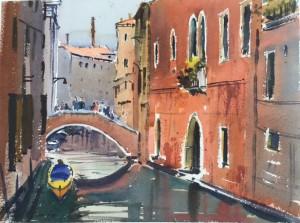 Diana Edwards--Colours of Venice-Watercolour-370x270mm