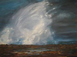 Ellen Palmer Hubble-New Wave-Oil on Canvas