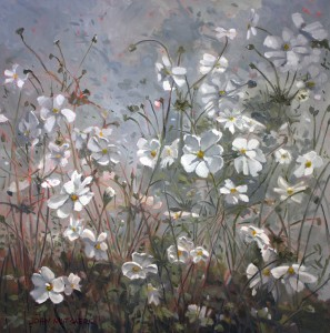 John Mutsaers--Wind Flowers, oil on canvas, 91x92cm