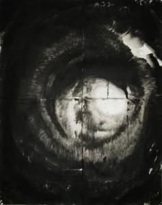 Sofie Dieu--Swirl I-W225xH166.5cm-Ink on Awagami Bamboo Paper